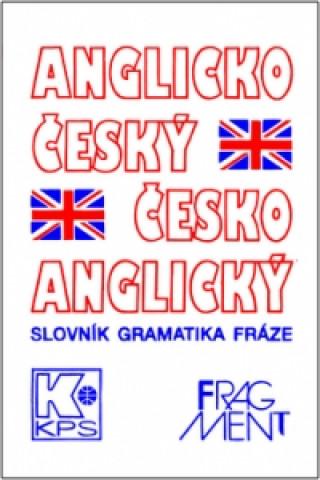 Carte Anglicko český Česko anglický slovník gramatika fráze Martin Knezovič