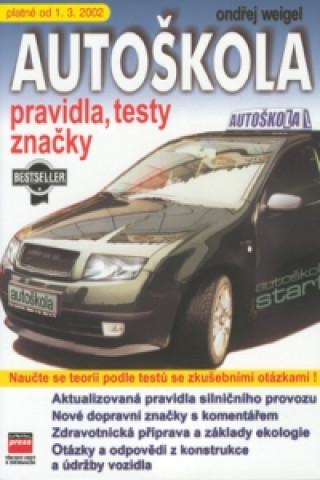 Autoškola platné od 1.3. 2002