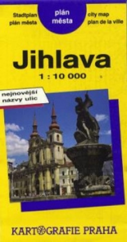 PM Jihlava 1:10T plán města