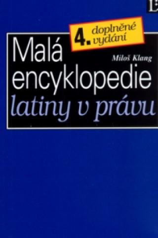 Malá encyklopedie latiny v právu