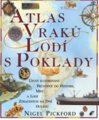Atlas vraků lodí s poklady