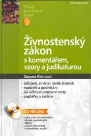 Živnostenský zákon s komentářem, vzory a judikaturou + CD
