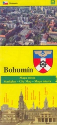 Bohumín mapa města
