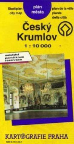 Český Krumlov plán města