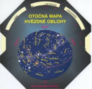 Otočná mapa hvězdné oblohy