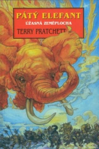 Carte Pátý elefant Terry Pratchett