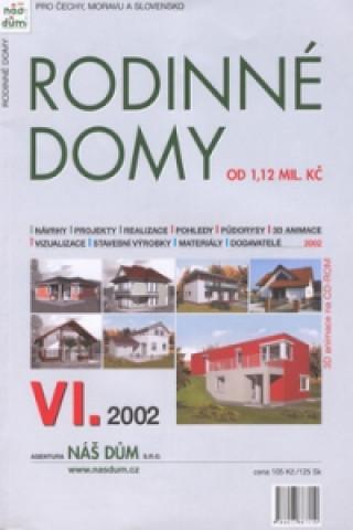 Rodinné domy VI.2002 + CD