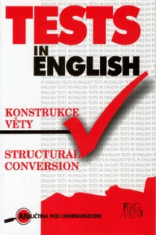 Tests in English Structural conversion