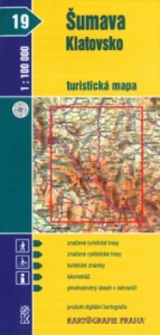 Materiale tipărite Šumava Klatovsko 1:100 000