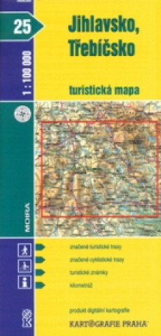 Materiale tipărite Jihlavsko, Třebíčsko 1:100 000