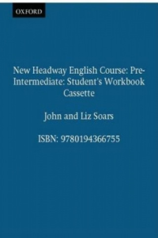 New Headway Pre-Intermediate Student's Workbook Cassette