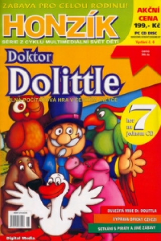 Honzík Dr. Dolittle + CD