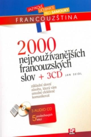 2000 nejpoužívanějších francouzských slov + 3CD