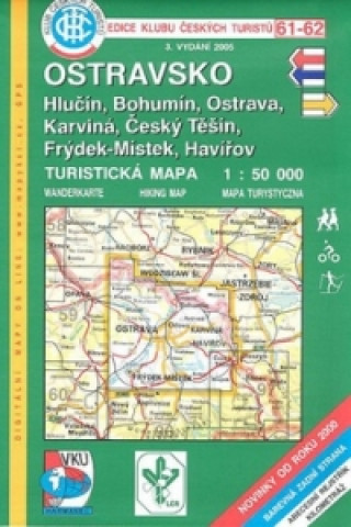 Materiale tipărite KČT 61-62 Ostravsko