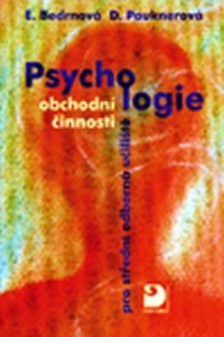 Psychologie obchodní činnosti pro střední odborná učiliště