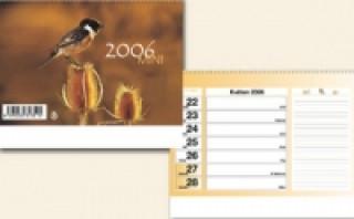 Týdenní bezobrázkový mini 2006 - stolní kalendář