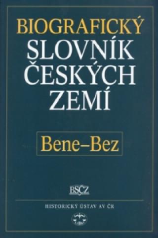 Carte Biografický slovník českých zemí, Bene-Bez Pavla Vošahlíková