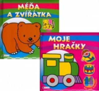 Balíček 2ks Méďa a zvířátka + Moje hračky