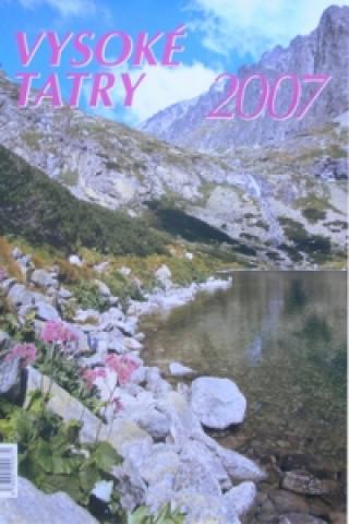 Vysoké Tatry 2007 - nástěnný kalendář
