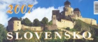 Slovensko 2007 - stolní kalendář
