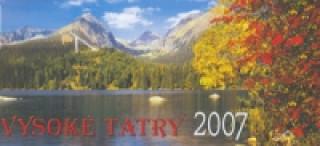 Vysoké Tatry 2007 - stolní kalendář