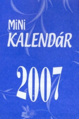 Mini KALENDÁR 2007 - stolní kalendář