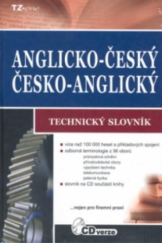 Anglicko-český, česko-anglický technický slovník + CD ROM