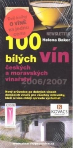 Komplet 2ks 100 bílých + 100 červených vín