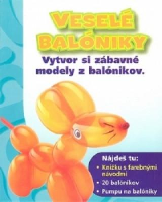 Veselé balóniky + 20 balónikov + pumpa na balóniky