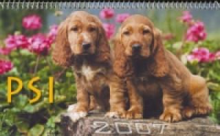 Psi 2007 - stolní kalendář