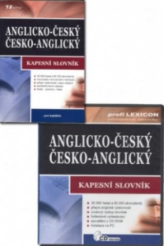 Anglicko-český/česko-anglický kapesní slovník + CD-ROM