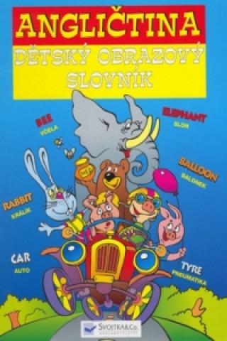 Angličtina dětský obrazový slovník
