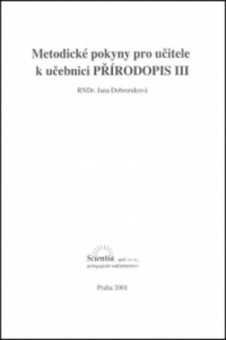 Metodické pokyny pro učitele k učebnici Přírodopisu III.