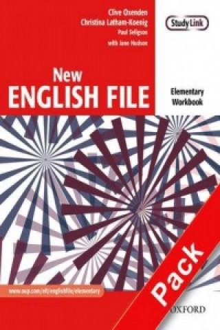 New English file elementary Workbook Key + CD ROM pack