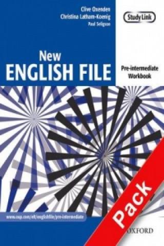 New English file Pre-intermediate Workbook + CD ROM pack