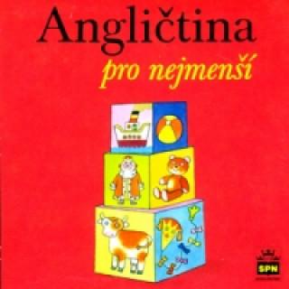 Audio CD Angličtina pro nejmenší Marie Zahálková