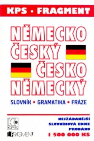 Carte Německo český Česko německý slovník, gramatika, fráze Eva Mrázková