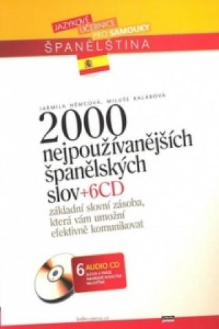 2000 nejpoužívanějších španělských slov + 6CD