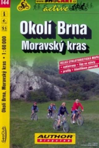 Okolí Brna Moravský kras 1:60 000