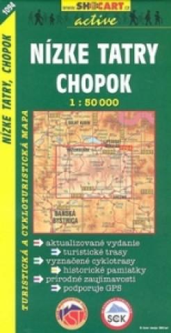 Nízké Tatry Chopok 1:50 000