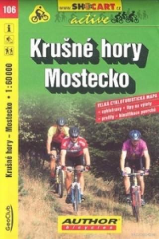 Krušné hory Mostecko 1:60 000