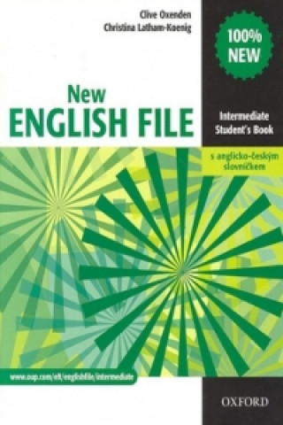 New English file Intermediate Student's book + Czech wordlist