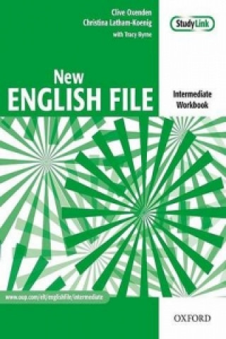 New English file intermediate Workbook key + CD-ROM pack