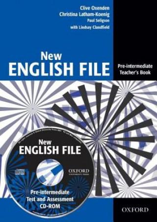 New English File Pre-intermediate Teacher's book + CD-ROM