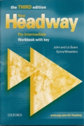Kniha New Headway: Pre-Intermediate Third Edition: Workbook (With Key) John Soars