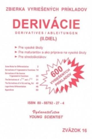 Derivácie II.diel