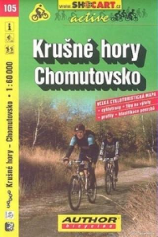 Krušné hory Chomutovsko 1:60 000