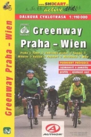Greenway Praha-Wien 1:110 000