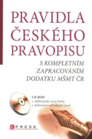 Carte Pravidla českého pravopisu collegium