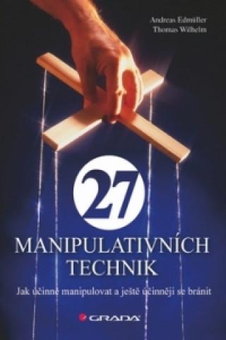 Carte 27 manipulativních technik Thomas Wilhelm